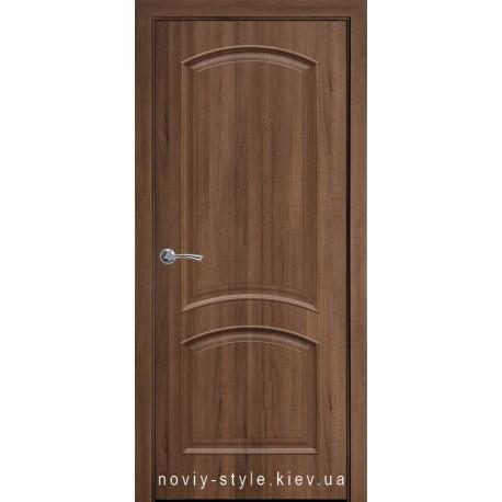 Двері Антре Новий Стиль золота вільха (ПВХ DeLuxe) глухе