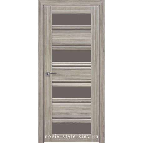 Двері Венеція С2 Новий Стиль перла magica (Смарт) зі склом бронза