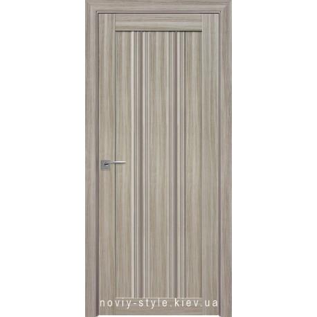 Двері Верона С1 Новий Стиль перла magica (Смарт) зі склом бронза