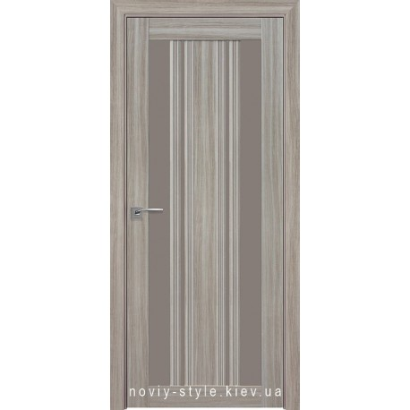 Двери Верона С2 Новый Стиль перла magica (Смарт) со стеклом бронза