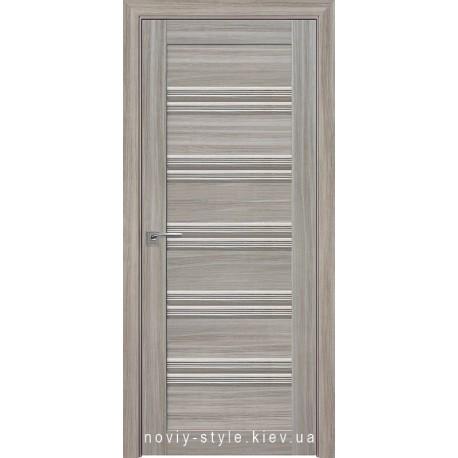 Двери Виченца С1 Новый Стиль перла magica (Смарт) со стеклом бронза
