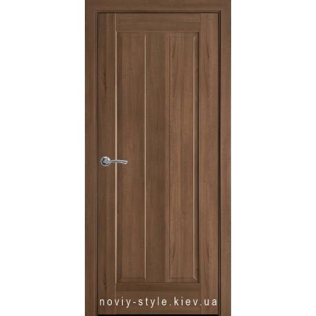 Двери Премьера Новый Стиль золотая ольха (ПВХ DeLuxe) глухое