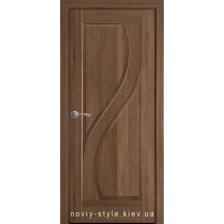 Двері Прима Новий Стиль золота вільха (ПВХ DeLuxe) глухе