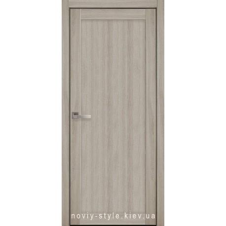 Двери Лейла Новый Стиль ясень патина (экошпон) глухое