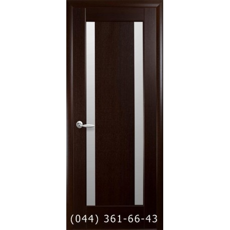 Двери Босса венге new с матовым стеклом