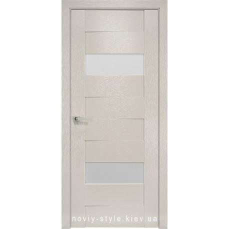 Двери Женева Новый Стиль X-беж (Orni-X) с матовым стеклом
