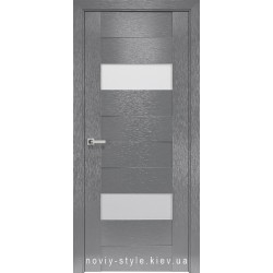 Двери Женева Новый Стиль X-серый (Orni-X) с матовым стеклом