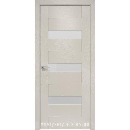 Двери Вена Новый Стиль X-беж (Orni-X) с матовым стеклом