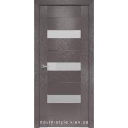 Двери Вена Новый Стиль X-мокко (Orni-X) с матовым стеклом