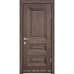 Двери Камилла Новый Стиль орех норвежский (ЭкоВуд) глухое