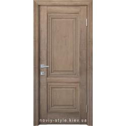 Двери Канна Новый Стиль орех европейский (ЭкоВуд) глухое