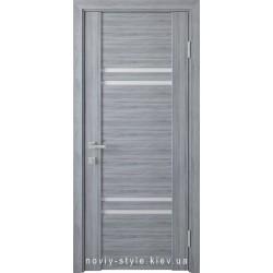 Двері Меріда Новий Стиль бук кашемір з матовим склом