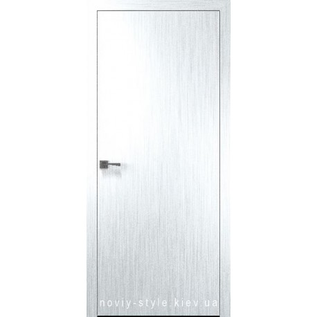 Двері Стандарт 40 мм Новий Стиль Х-Білий Silk глухе