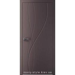 Двері Міді (Midi) Новий Стиль Х-Мокко Silk глухе