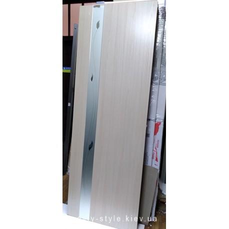 Двері Злата 70 см ясен Новий Стиль розпродаж