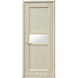 Двери Рифма ясень с матовым стеклом