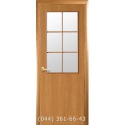 Двери Колори B ольха 3d с матовым стеклом