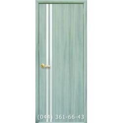 Двери Вита ясень патина глухое (с зеркалом)