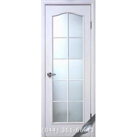 Двери Симпли C структурный с матовым стеклом
