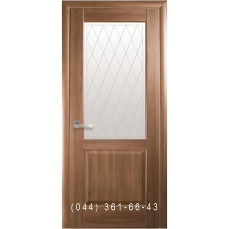 Двері Епіка Новий Стиль золота вільха (ПВХ DeLuxe)