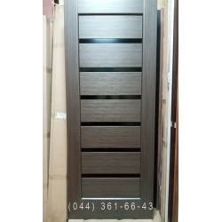 Двері Линея 80 см грей Новий Стиль розпродаж