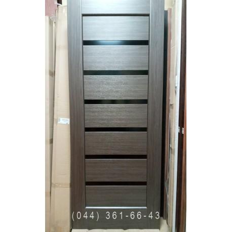 Двері Стелла 70 см каштан