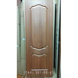 Двери Фортис V (Вензель) 70 см золотая ольха Новый Стиль