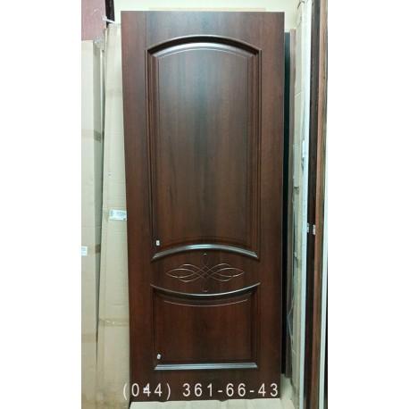 Двери Донна 80 см каштан Новый Стиль скидка