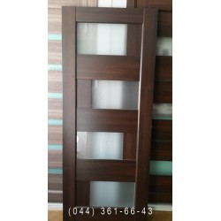 Двери Сиена 80 см каштан Новый Стиль распродажа