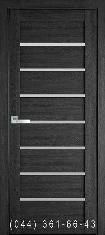 Двери Леона дуб серый