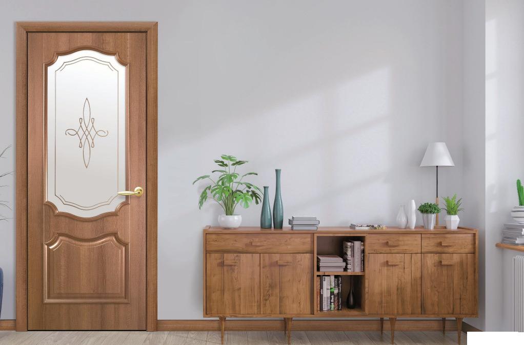 Двері Фортіс V (Вензель) в інтер'єрі