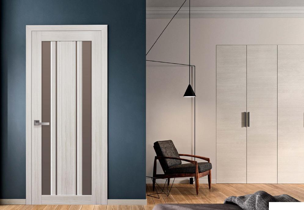 Двери Верона С2 Новый Стиль в интерьере