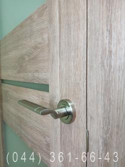 Фото двери Аскона в цвете бук шато