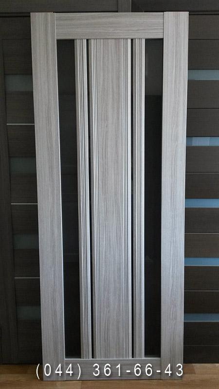 Фото дверей Верона С2 Новий Стиль в кольорі перла срібна
