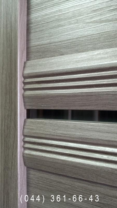 Фото двери Виченца С1 в цвете перла графит