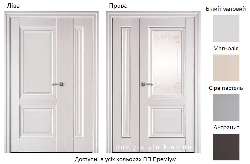 Полуторные, двойные двери Имидж