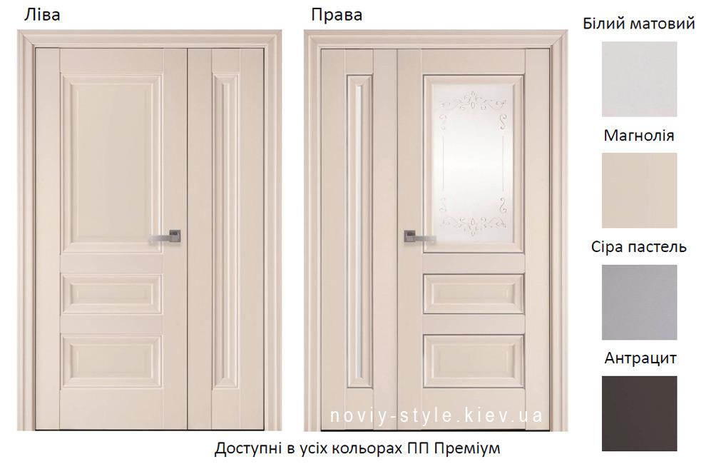 Двері Статус 800 мм + Престиж 400 мм