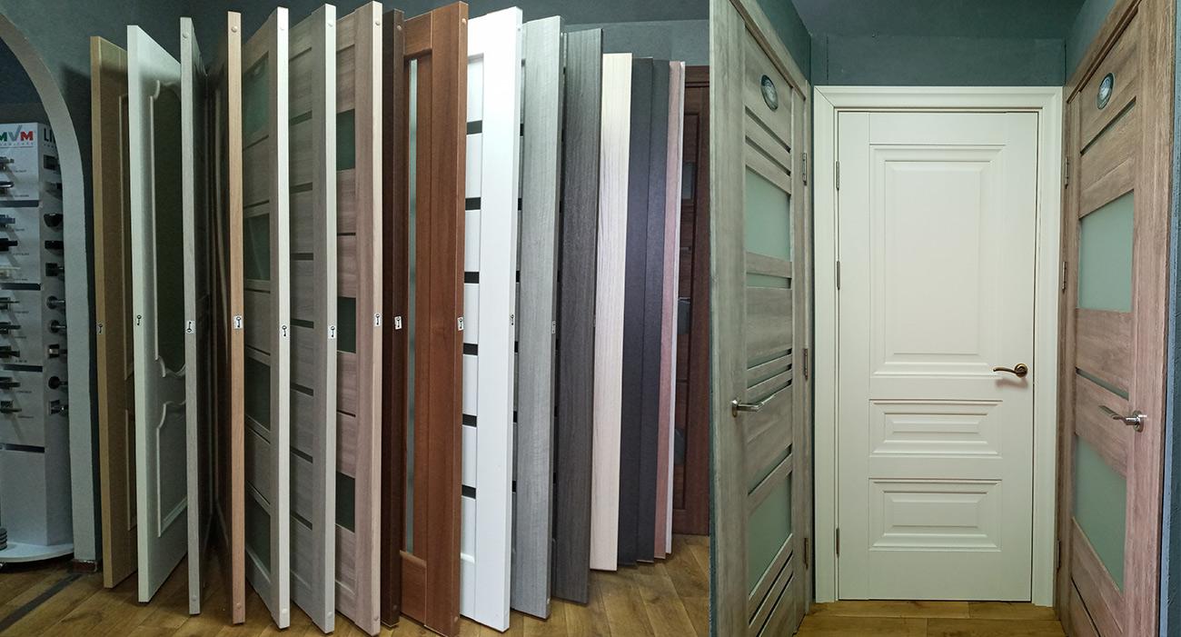 Выставка в магазине дверей Новый Стиль